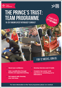 Princes Trust Team Programme